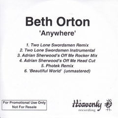 Beth Orton UK promo CDR