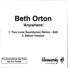 Beth Orton Anywhere Promo CDR