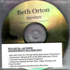 Beth Orton Anywhere AUS promo